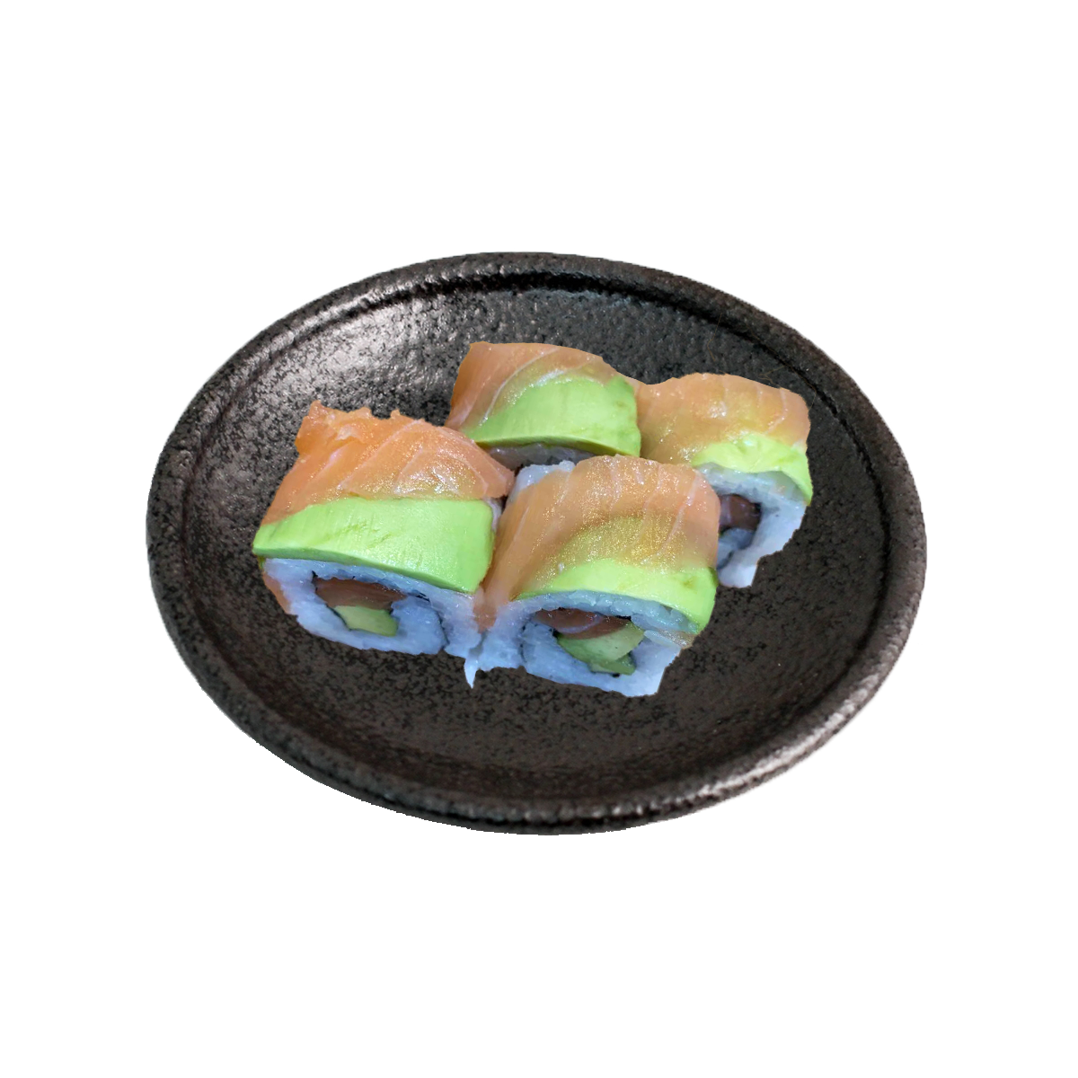 RAINBOW ROLL (4pc)